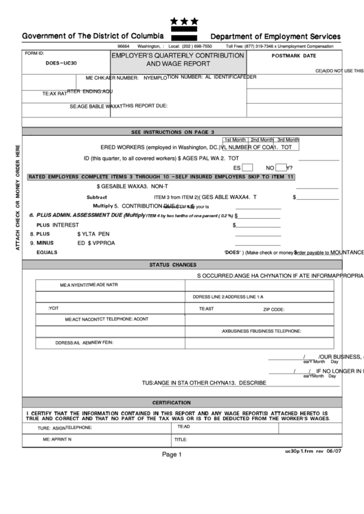 Employer contribution and wager report Custom paper Sample - July