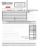 Form Sd 100e - School District Estate Income Tax Return Form - Ohio Department Of Taxation