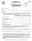 Form St 185-b - Supporting Schedule For St-185 (application For Sales/use Tax Refund)