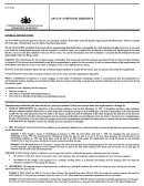 Form Pa19 - Instructions Sheet