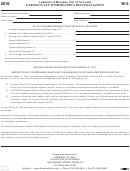 Form W-3 - Earnings Tax Withholding Reconciliation - 2016