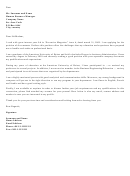 Accountants Professional Cover Letter Template
