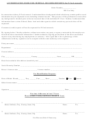 Authorization Form For Criminal Records Reports (for P-card Renewal)