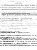 Form E-500e - Utility And Liquor Sales And Use Tax Booklet Instructions