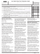 Form 8896 - Low Sulfur Diesel Fuel Production Credit Form