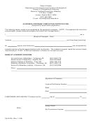 Form 08-4215b - Academic Program Completion Certification