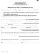 Form 08-4020b - Administrator In Training (ait) Program Proposal Form