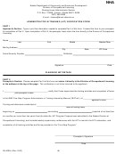 Form 08-4020c - Administrator In Training (ait) Verification Form