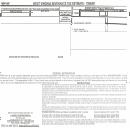 Form Sev-400t - Severance Tax Estimate - Timber - 2005