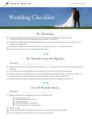 Wedding Checklist Template