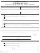 Form Ttb F 5000.19 - Tax Information Authorization - Department Of The Treasury