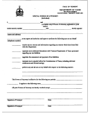 Special Power Of Attorney (individual) Form