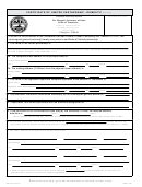 Form Ss-4470 - Certificate Of Limited Partnership - Domestic - Tennessee Secretary Of State
