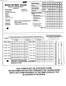 Form Nj-927-w - Employer's Quarterly Report
