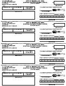 Quarterly Estimate Payment Coupon - 2010 - City Of Massillon Income Tax Department