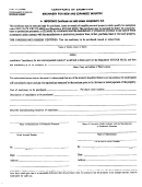 Form 51a111 - Form For Certificate Of Exemption - Machinery For New And Expanded Industry