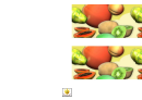 Exotic Fruits Border Template For Displays