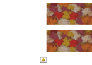 Autumn Leaves Border Template For Displays