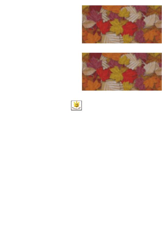 Autumn Leaves Border Template For Displays Printable pdf