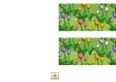 Spring Tulips Border Template For Displays