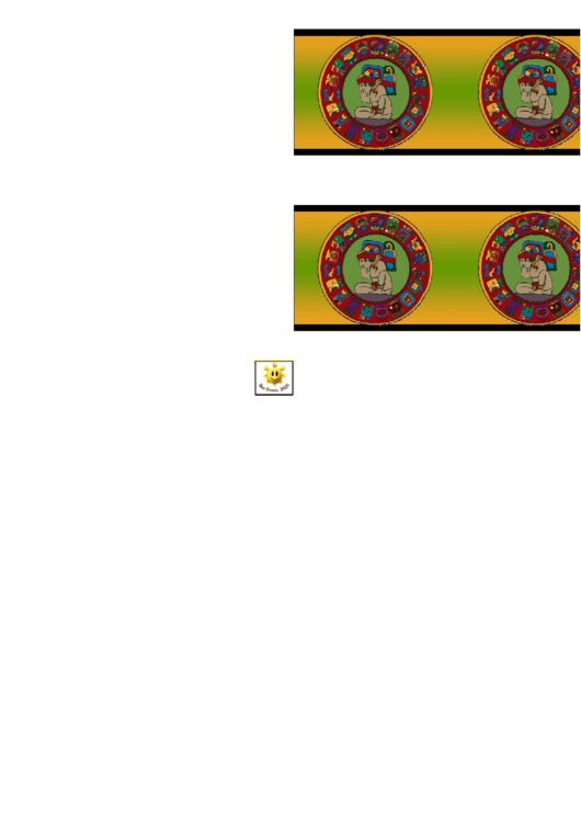Aztec Border Template For Displays Printable pdf