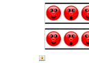 Red Noses Border Template For Displays
