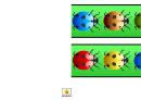 Rainbow Ladybird Border Template For Displays