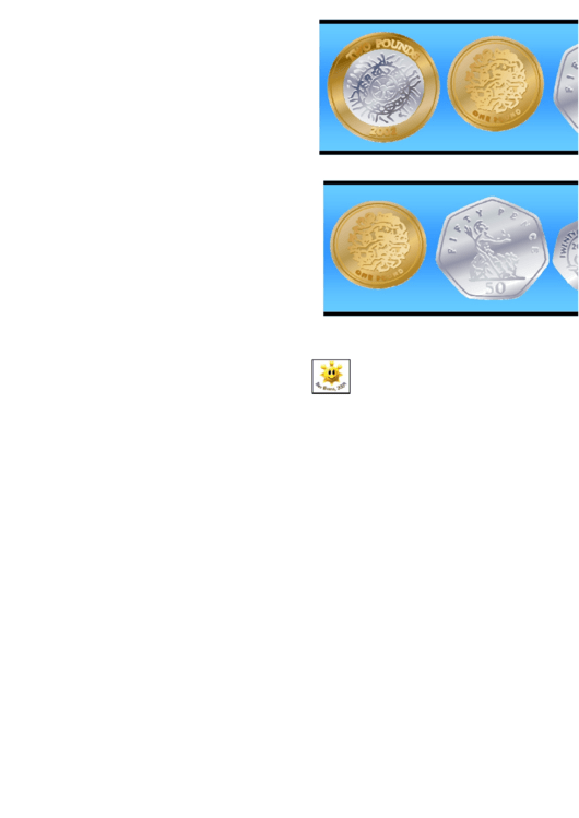 Uk Coins Border Template For Displays Printable pdf