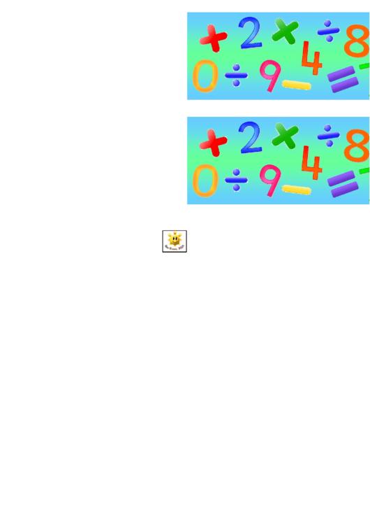Maths Border Template For Displays Printable pdf