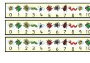 Cool Bugs Desktop Numberlines 0-20 Template