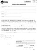Montana Form Ina-ct - Affidavit Of Corporate Inactivity