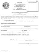 Form 08-4356 - Application To Upgrade The Tonnage Of A Deputy Marine Pilot License - Department Of Commerce And Economic Development