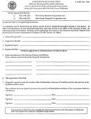Form C-159b - Certificate Of Dissolution