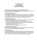 Vermont Tax Filing Instructions Sheet For 2000 - Business/corporate Income Tax Return Forms