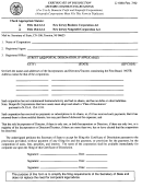 Form C-159a - Certificate Of Idssolution - New Jersey Secretary Of State