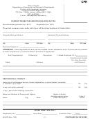 Form Cpr - Concert Promoter Registration Application - Alaska Department Of Community And Economic Development