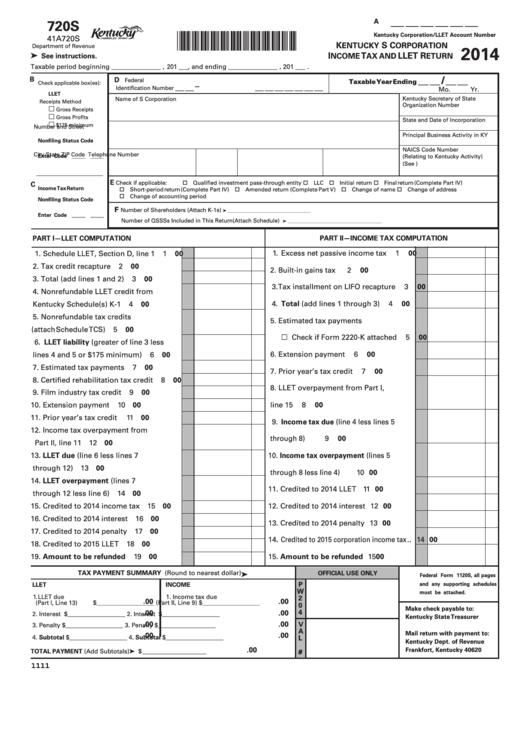 Trust Tax Return Instructions 2014 Pdf