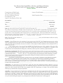 Irrevocable Letter Of Credit Form - Nm Bank - 2004