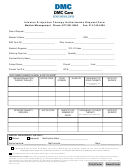 Infusion & Injection Therapy Authorization Request Form