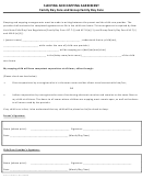 Sleeping And Napping Agreement Template - Family Day Care And Group Family Day Care