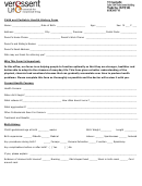 Child And Pediatric Health History Form