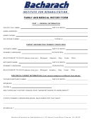 Family And Medical History Form