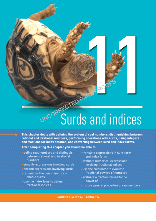 Surds And Indices