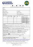 Vintage Insurance Proposal Form