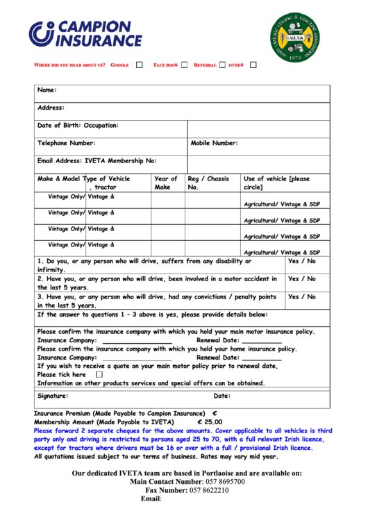 Top Insurance Proposal Templates Free To Download In Pdf Format