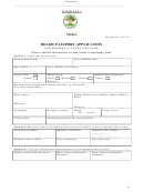 Belize Passport Application For Persons 16 Years And Over