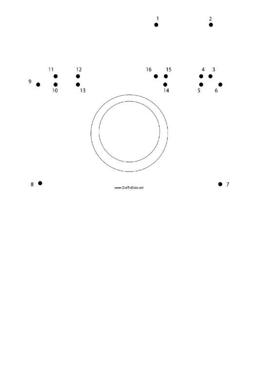 Camera Dot-to-dot Sheet