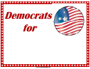 Democrats For Sign