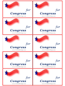 For Congress Cards