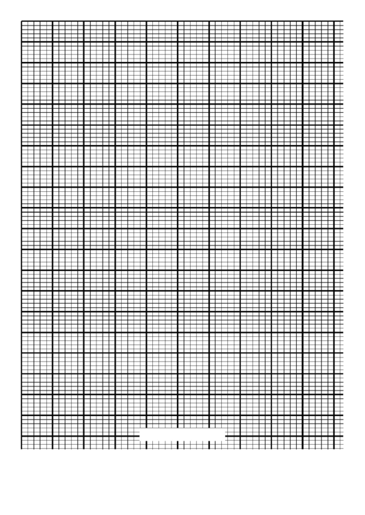 Knitting Grid Paper Template - Letter - Portrait Printable pdf